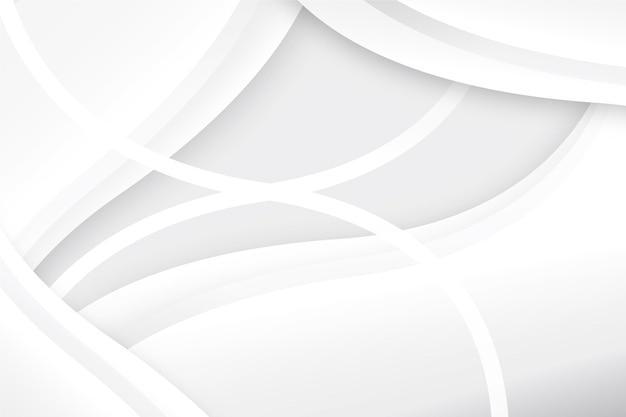 Białe monochromatyczne tło