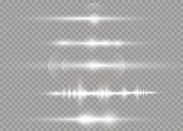 Białe świecące światło eksploduje ilustrację