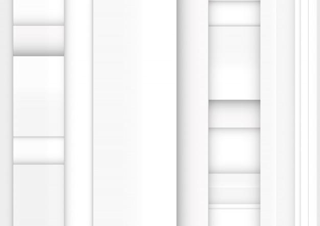 Białe szare paski. geometryczne technologia streszczenie tło.