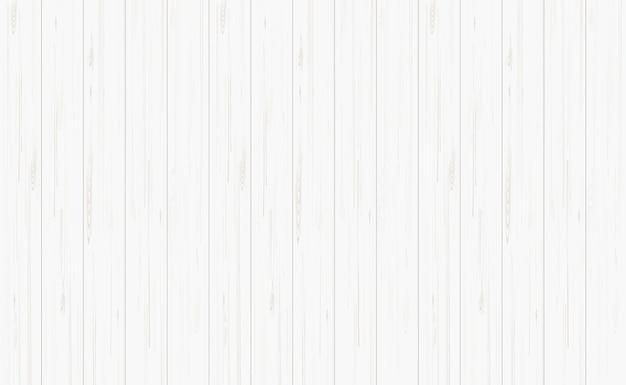 Białe tło drewna.