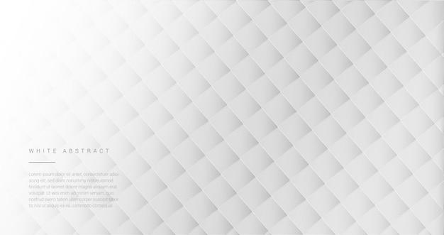 Białe tło geometryczne okładka
