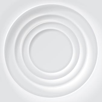 Białe tło pomarszczony powierzchni