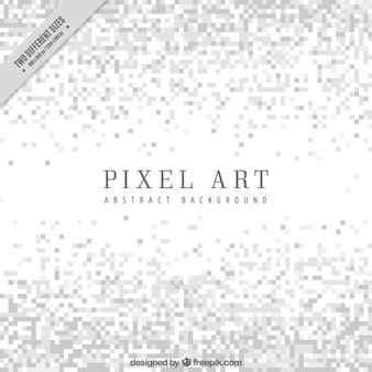 Białe tło w minimalistycznym stylu pixel sztuki