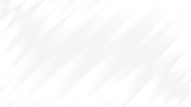 Białe tło z abstrakcyjnym wzorem kropek.