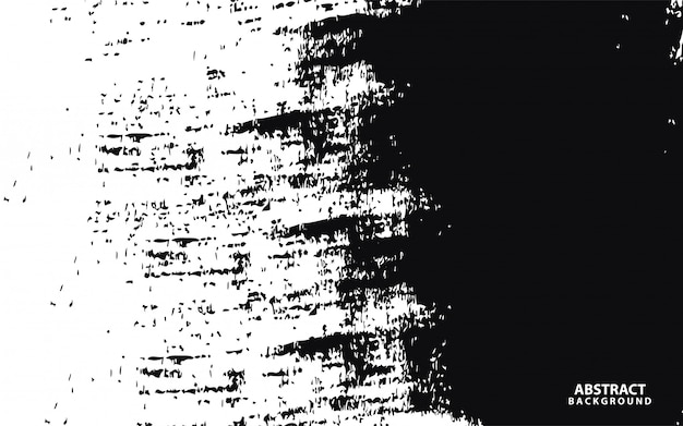 Białe tło z czarnym grunge