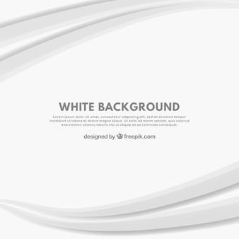 Białe tło z krzywych