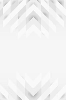 Biały 3d nowoczesny wzór tła