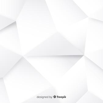 Biały 3d papieru stylu tło