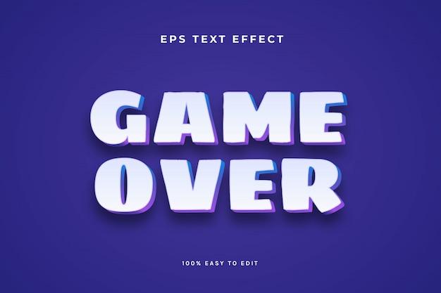 Biały, fioletowy efekt tekstowy