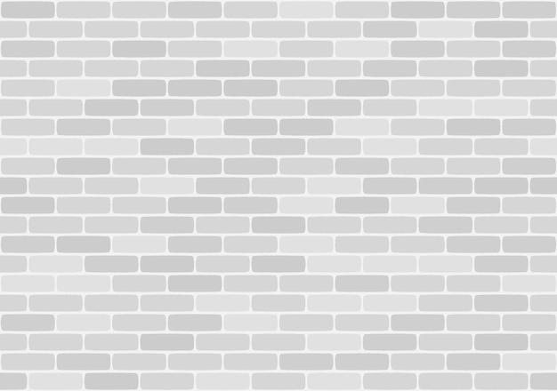 Biały mur z cegły wzór