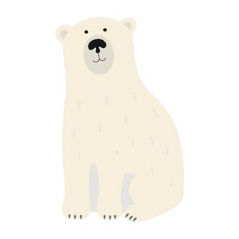 Biały niedźwiedź polarny