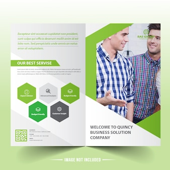 Bifold biznesowy broszura