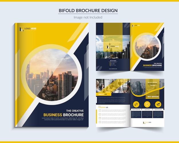 Bifold broszura biznesowa