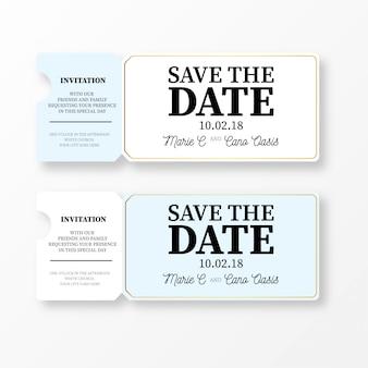 Bilet ślubny