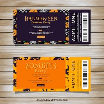 Bilet stroną zombie