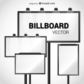 Billboard wektora pakietu
