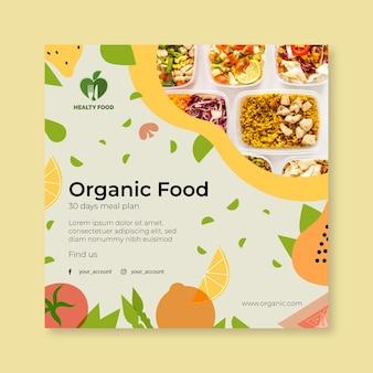 Bio i zdrowa żywność ze zdjęciem