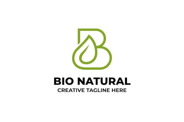 Bio naturalne organiczne ziołowe logo firmy