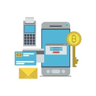Bitcoin cyfrowy klucz waluty logowanie w płatności ze smartfona