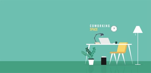 Biuro biznesmeni uczą się i nauczają pracy za pomocą ilustracji