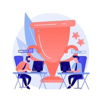 Biuro koncepcja streszczenie konkursu e-sport