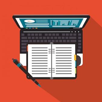 Biuro laptopów i biznes