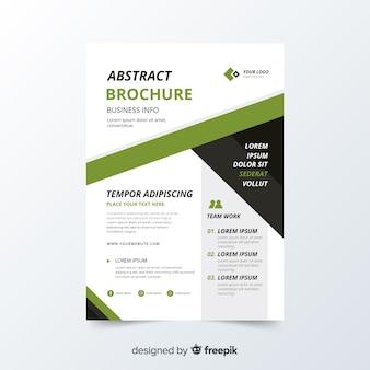 Biznes broszura szablon