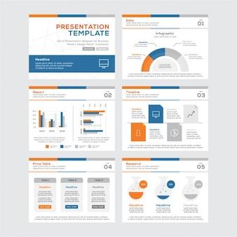 Biznes infografika szablon