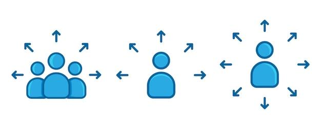 Biznes łączący ludzi