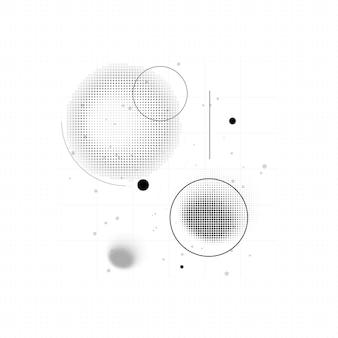 Biznes, nauka, technologia projekt streszczenie tło. ilustracja wektorowa futurystyczny.