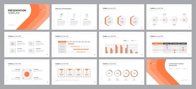 Biznes plansza prezentacji szablon projektu układu slajdów