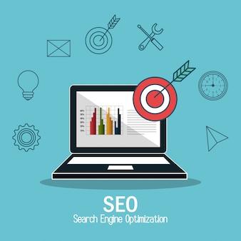 Biznes sukces optymalizacji pod kątem wyszukiwarek
