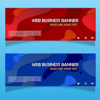 Biznes transparent tło płynnego biznesu