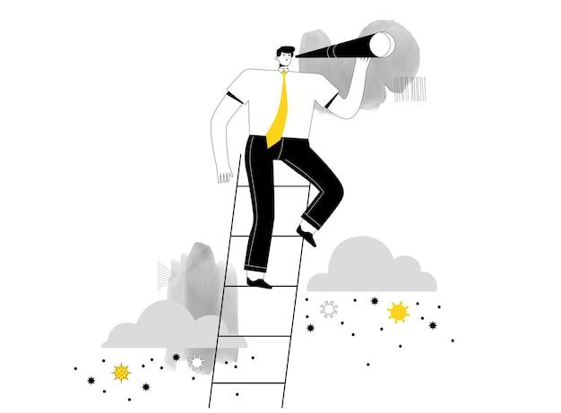 Biznesmen wzniósł się ponad koronawirusa i szuka nowych możliwości biznesowych