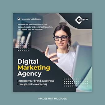 Biznesowa agencja cyfrowa social media banner