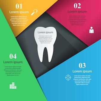 Biznesowa infographics origami wektoru ilustracja