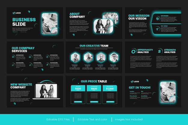 Biznesowa prezentacja powerpoint