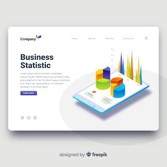 Biznesowa strona docelowa