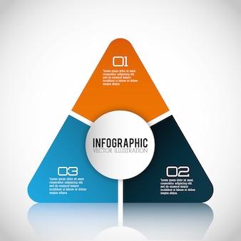 Biznesowy infographic projekt