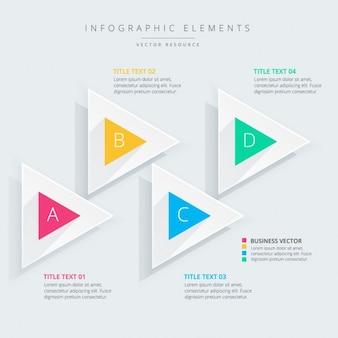 Biznesu infografika szablon