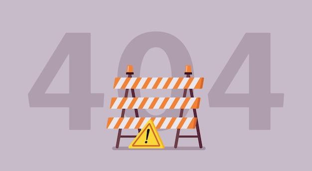 Błąd 404, nie znaleziono komunikatu dotyczącego strony