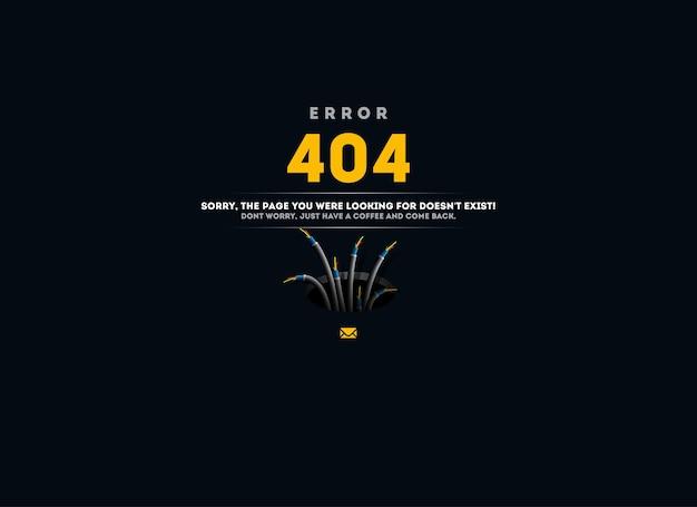 Błąd 404.
