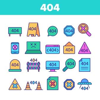 Błąd http 404 koloru