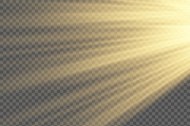 Blask na białym tle zestaw przezroczystych efektów świetlnych, rozbłysk soczewki, eksplozja, blask, linia, błysk słoneczny, iskra i gwiazdy.