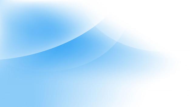 Błękitna fala abstrakt