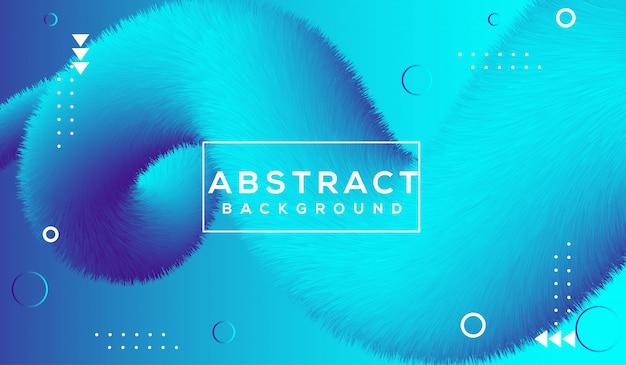Błękitny abstrakta przepływ kształtuje tło