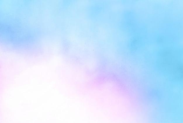 Błękitny i różowy akwareli tekstury abstrakta tło