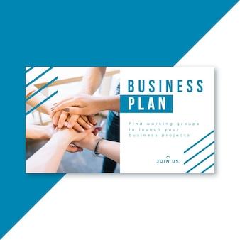 Blog z banerami biznesowymi