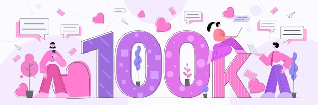 Blogerzy zdobyli 100 tys. polubień lub obserwujących blogowanie w sieci