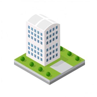 Blok modułu izometrycznego 3d